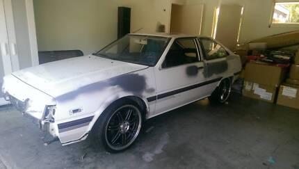 1985 Mitsubishi Cordia Turbo Hatchback Oxenford Gold Coast North Preview