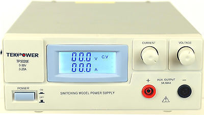 TekPower TP3020E DC Adjustable Switching Power Supply 30V 20A  Digital Display 20a Dc Power Supply