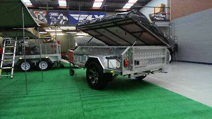 Off Road All Galv Camper Trailer. Mawson LX - PMX Campers Wangara Wanneroo Area Preview