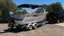Stacer 589 Baymaster Runabout 150hp Yamaha Fishing Ski Port Augusta 5700 Port Augusta City Preview