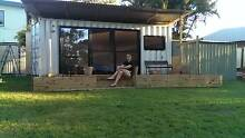 Shipping container modified convert to bedroom office hobby  area Mango Hill Pine Rivers Area Preview