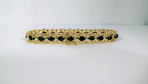 $10,000. 2 New Gold Diamond Sapphire &Diamond Tanzanite Bracelets Innaloo Stirling Area Preview