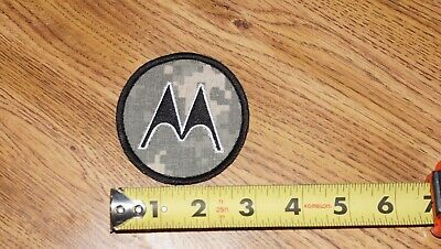 Motorola Acu Patch Circle M Apx8000xe Apx 6000 7000 Xtl Astro Spectra