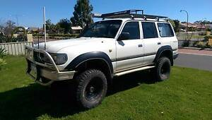 1HDT 80 series landcruiser Australind Harvey Area Preview