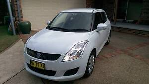 2013 SUZUKI SWIFT GL -VERY LOW KS - PRESENTS AS NEW - PEARL WHITE Hornsby Hornsby Area Preview