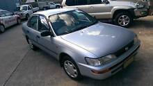 1995 Toyota Corolla Sedan - 12 mths rego & new battery. Thornleigh Hornsby Area Preview
