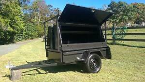 BUILDERS TRAILER 6x4 with H/DUTY Racks Palmwoods Maroochydore Area Preview