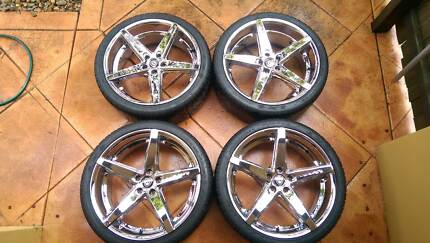 Lexani 20inch R4 Wheels and LX-5 Tyres 245/35 ZR20 Sunnybank Brisbane South West Preview