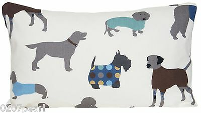 Dogs Rectangle Cushion Cover Printed Decorative Pillow Case Man's Best Friend