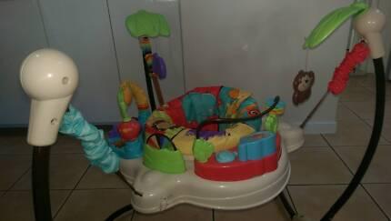 Fisher Price Luv U Zoo Jumperoo Bouncer