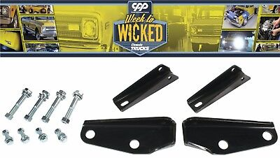 Chevy C10 GMC Pickup Truck Rear CPP Shock Relocation Conversion Kit 6372SRK