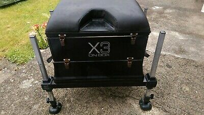 Original Preston Innovations X3 On Box Fishing Seat Box