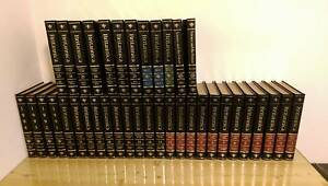 Encyclopaedia Britannica Full Leather Set. Winthrop Melville Area Preview