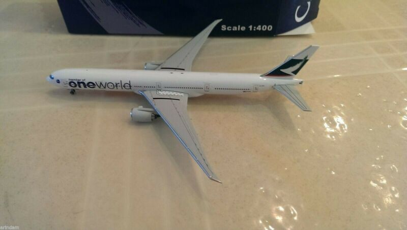 JC Wings Cathay Pacific B 777-367 1:400 JCXCXA836 JC2836 OneWorld Colors. B-KPL