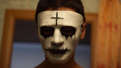 The Purge Film mask Purge God Christ christcross mask Male Female The - Jesus Mask