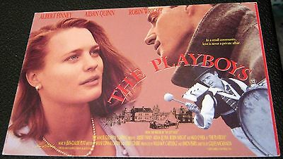 Film The Playboys Albert Finney Aidan Quinn Robin Wright OH6 Odeon - unused