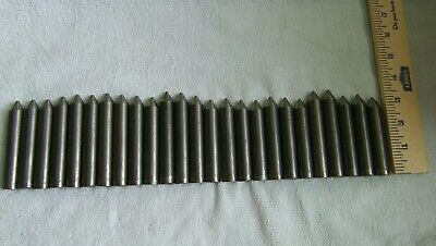 25 Pcs 4140 Cr Annealed 58 Dia Usa Made Steel Bars Around 7 Feet Metal Rods