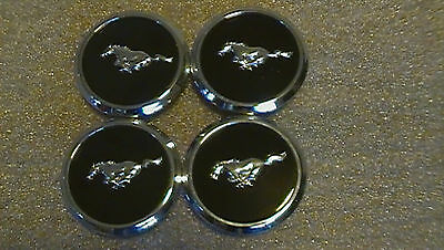 Strip Badges - Ford mustang wheel center cap hubcap badge emblem pony without Multi color strip