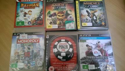 Asstd PS 3 Games Craigie Joondalup Area Preview