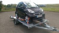 2013 Smart fortwo 1.0 mhd Softouch Passion and trailer for motorhome tow car
