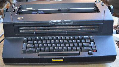 Vintage Ibm Correcting Selectric Iii Electric Typewriter Black Tested