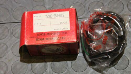 NOS Honda Stop Switch Assembly 1981 ATC185S ATC200 ATC110 35300-958-013 New BINE