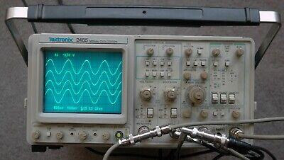 Tektronix 2465 300 Mhz Oscilloscope Calibrated Sn B013835