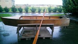 Wooden Boat- Plywood Skiff with motor Keilor Brimbank Area Preview