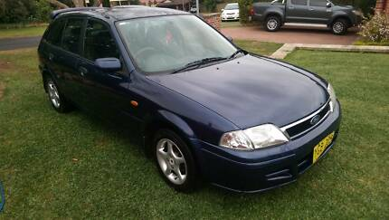 2002 Ford Laser Hatchback Largs Maitland Area Preview