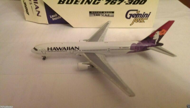 Gemini Jets Hawaiian Airlines B 767-33AER 1:400 GJHAL225 Kolean Colors N580HA