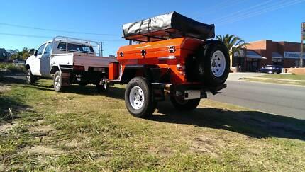 Tough little off road trailer. PMX Campers - Jardine SE