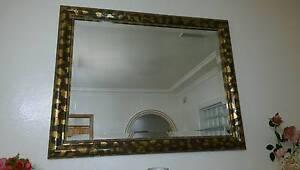 Luxury French gild bilateral mirror 118cm (W)x 93cm (H)x4.5cm (D) Gordon Ku-ring-gai Area Preview
