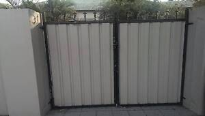 Double Metal Driveway Gate/ Backyard Entrance Gate North Strathfield Canada Bay Area Preview