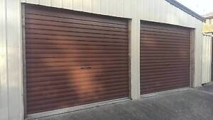 Double Metal Garage Roller Doors North Strathfield Canada Bay Area Preview