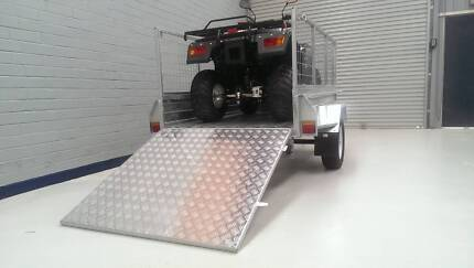 All New caged trailer PMX 7x4 with Ramp included! PMX Trailers Canning Vale Canning Area Preview