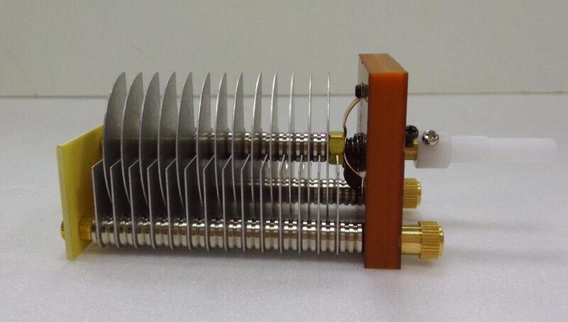 High Voltage Air Variable Capacitors 20-95pF- Amplifier/Tuner/Loop Antenna