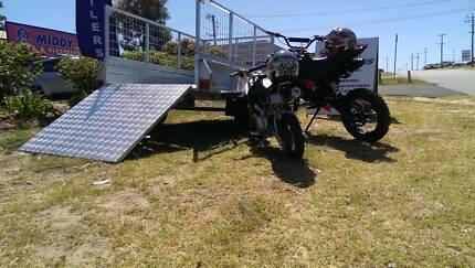 Trailers for Dirt Bikes, Quads. 7x4 Cage & Load Ramp. PMX Trailer Wangara Wanneroo Area Preview