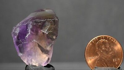 Amethyst Faceting Cabbing Lapidary Rough Crystal Brazil - $17.00