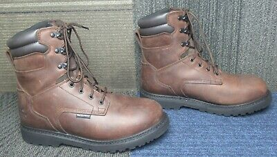 """Thorogood V-Series 8"""" Waterproof/Insulated 800g CrazyHorse Soft Toe Boots 11 M"""