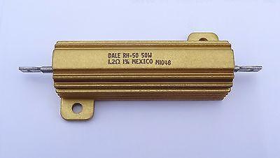 1 Pc 1.2 Ohm 1r2 50w 1 Wirewound Power Resistor By Dale Pn Rh0501r200fc05