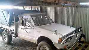 Nissan 720 flat tray 4x4 Railton Kentish Area Preview