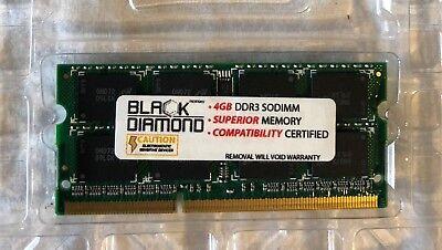 - 4GB RAM Memory Black Diamond Memory Module DDR3 SODIMM    BD0497