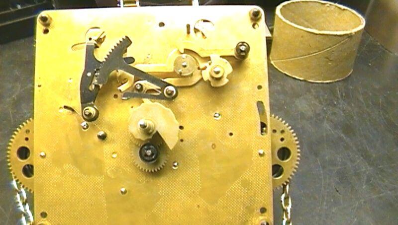 Clock Repair DVD Video - Hermle 451-050, Grandfather Clock Movement