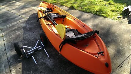Bargain - As New Double Kayak & Trailer Dodges Ferry Sorell Area Preview
