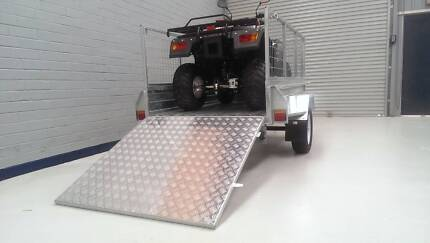 New 7x4 all Galvanized with Ramp. PMX Camper Trailer