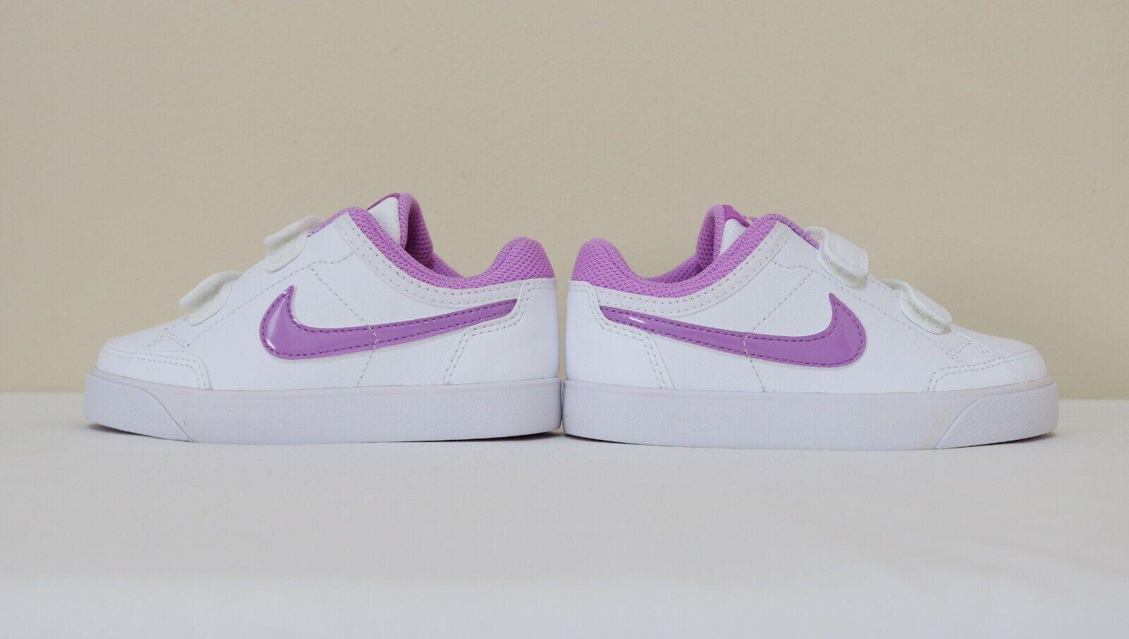 Nike Baby Girls Capri 3 LTR (TDV) sneaker shoes Size 7 ,8, 9 new with box 1