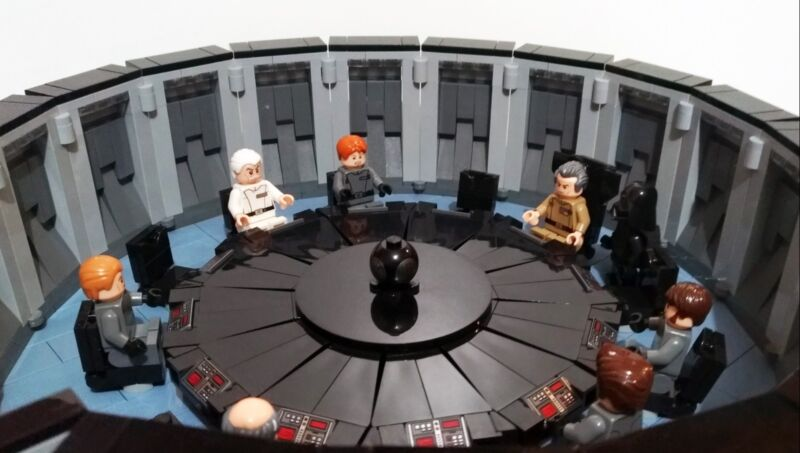 INSTRUCTION MANUAL ONLY *custom* Lego Star Wars Palpatine/'s Throne Room