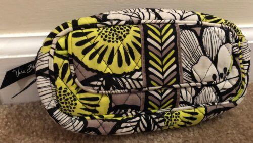 Vera Bradley Mirror Cosmetic Bag in Citron - Make-up Bag - Case - Accessory