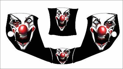 Miller Digital Infiniti 271329 Infinity Welding Helmet Decal Clown Red Nose