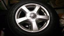 Isuzu D-Max Wheels and Tyres includes spare! Appin Wollondilly Area Preview